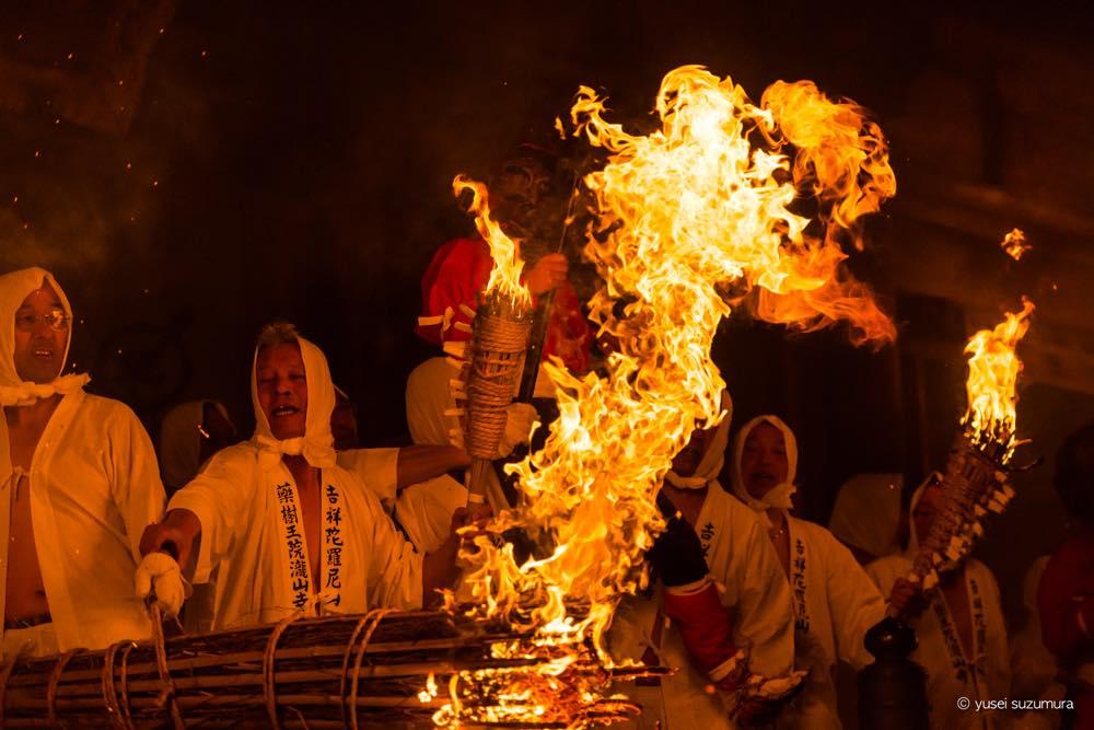 800年続く天下の奇祭。滝山寺鬼まつりへ行ってきた。