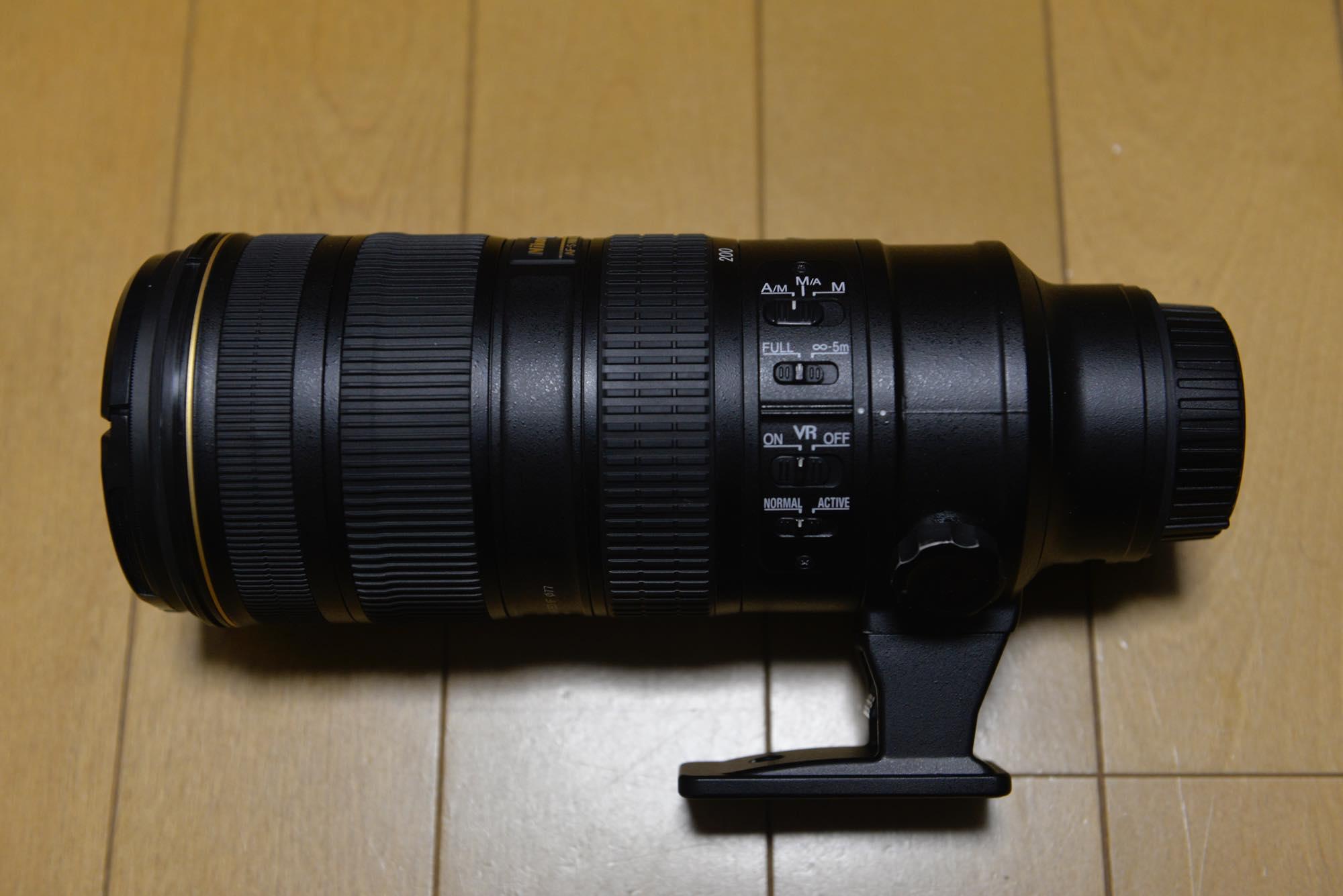 NIKKOR 70-200mm f/2.8G ED VR II購入!!これで風景もポートレートもばっちし!