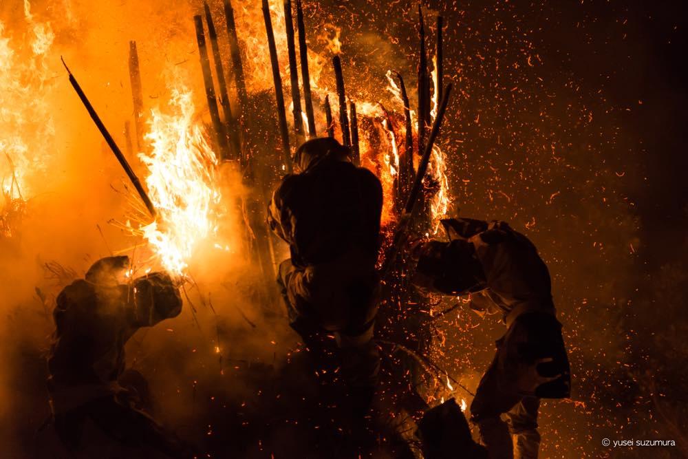【2018年版】狂熱の炎の奇祭。特殊神事「鳥羽の火祭り」に行ってきた。