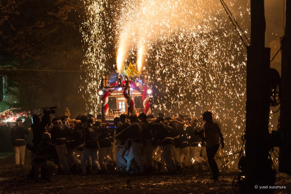 クレイジーすぎるお祭り!!手力の火祭に行ってきた。