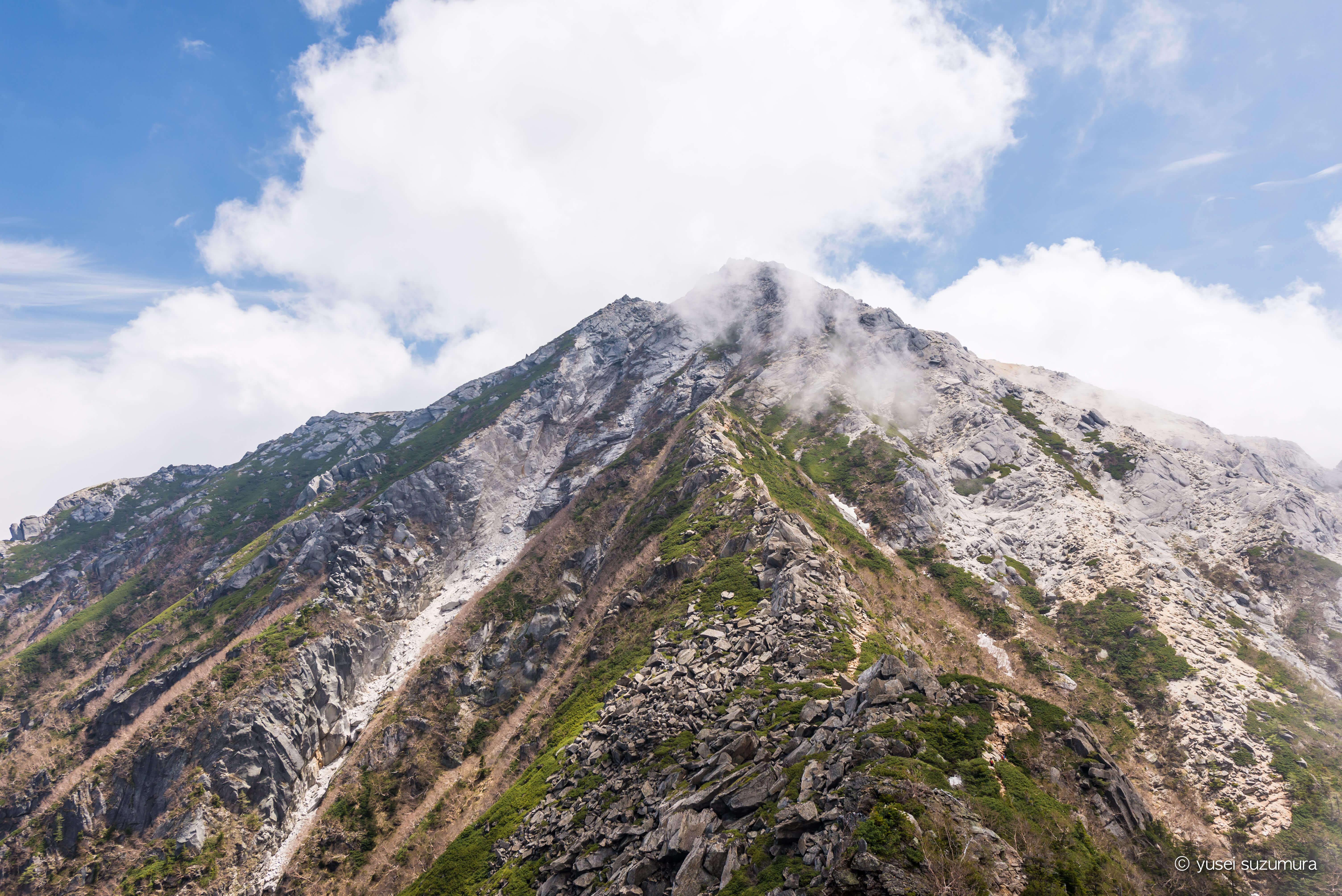 白い駒ケ岳!甲斐駒ヶ岳を登ってきた。