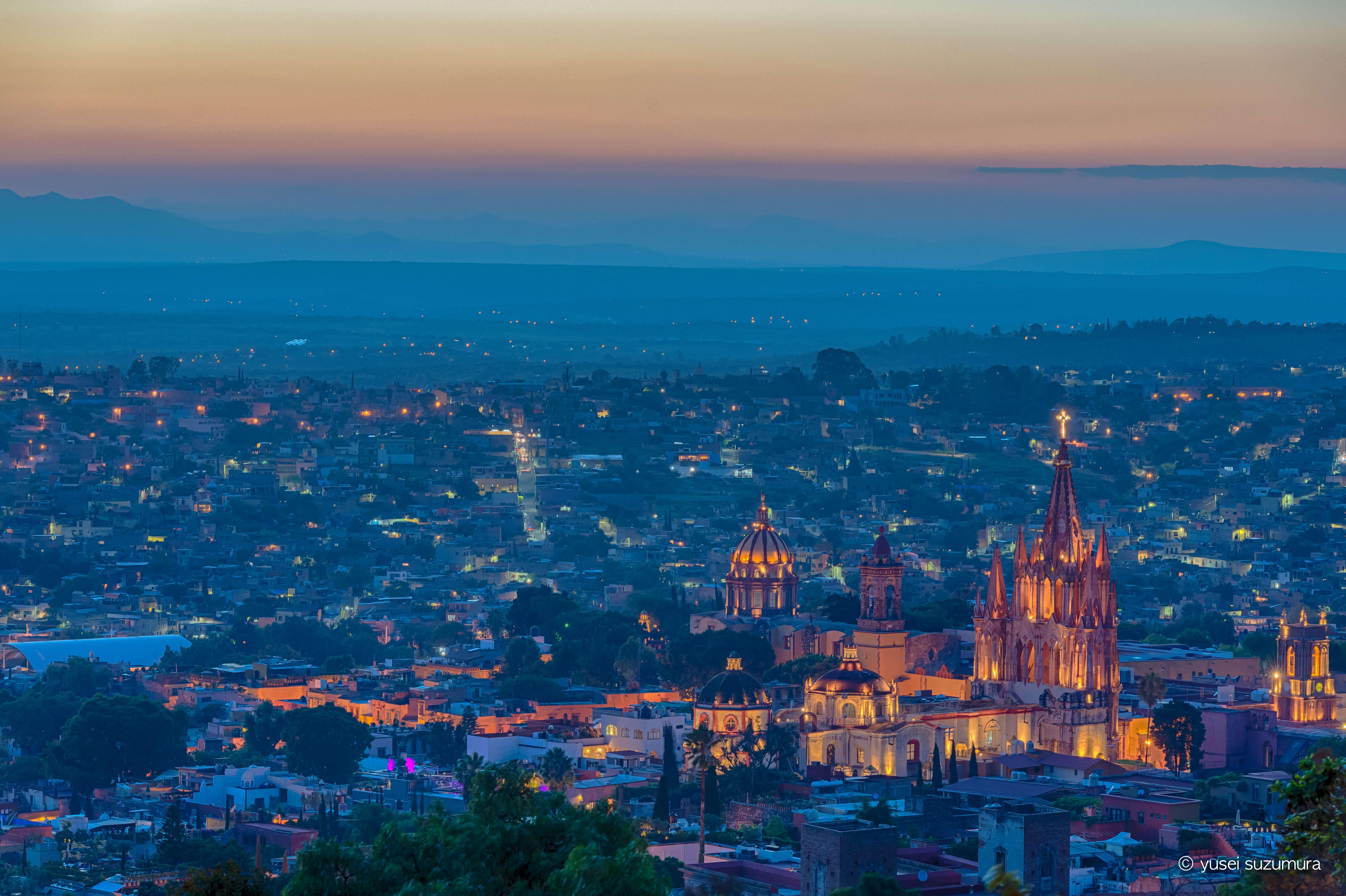 世界遺産の街、サン・ミゲル・デ・アジェンデへ