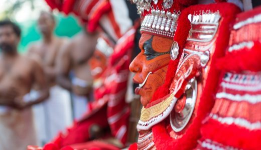 南インドのカヌールで行われているテイヤムを体験してきた。