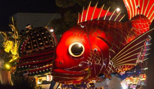 ユネスコ無形文化遺産!佐賀の唐津くんちで撮影してきた。